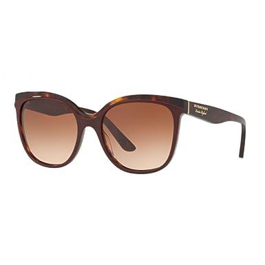 24e46464a69 Amazon.com  Burberry BE4270 373013 Bordeaux Havana BE4270 Butterfly ...