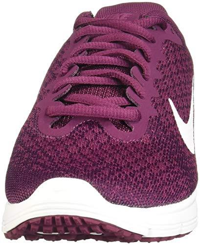 Max 602 Nike tea Fitness 2 Donna Berry bordeaux Da white Scarpe Multicolore white Wmns Sequent Air ZZanUF
