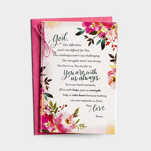 DaySpring Holley Gerth - In Every Circumstance - 3 Premium Cards of Encouragement for Life's Hard Moments