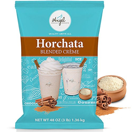 Horchata Blended Crème Mix by Angel Specialty Products [3 -