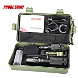 Hot Exclusive Bright 5000LM X800 shadowhawk CREE T6 LED Flashlight,Ninasill New Fashion Torch Lamp G700 Light Kit