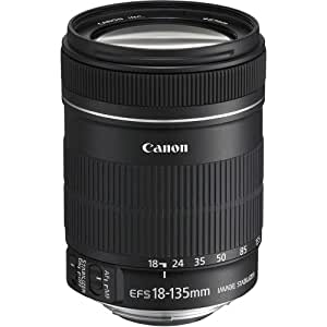 Canon 18-135mm f/5.6-38 for Canon EF-S Cameras Standard-Zoom Lens Fixed Zoom White Box (Bulk Packaging)