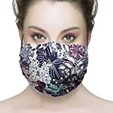 Healthyair 100% cotton Mask - Asthma/Allergy Air Filtering Dust Mask with Germ Killing Antimicrobial Ideal for Sanding & Drywall, Renovation & Construction Pollen Allergy (001)