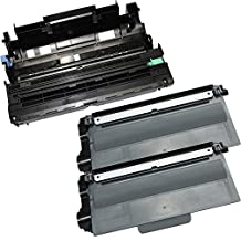 3PK-2 High Yield Toner Cartridges + 1 Drum Unit TN-750 DR-720 Inkfirst® Compatible Remanufactured for Brother TN-750 DR-720 (2 toner + 1 drum) DCP-8110DN DCP-8150DN DCP-8155DN MFC-8510DN MFC-8710DW MFC-8810DW MFC-8910DW MFC-8950DW MFC-8950DWT