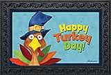 Briarwood Lane Turkey Day Thanksgiving Doormat Holiday Humor Indoor Outdoor 18' x 30'