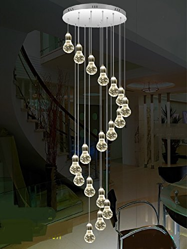 low priced f3707 60559 Amazon.com: Stairs Lights Staircase Pendant Lamp LED Bubble ...