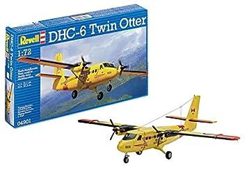 Revell- Maqueta DHC-6 Twin Otter, Kit Modello, Escala 1:72 (4901) (04901)