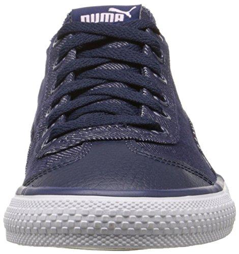 PUMA 917 Fun Denim Kids Sneaker (Little Kid/Big Kid), Peacoat/Lilac Snow/Patent/Lavender, 5.5 M US Big Kid by PUMA (Image #4)