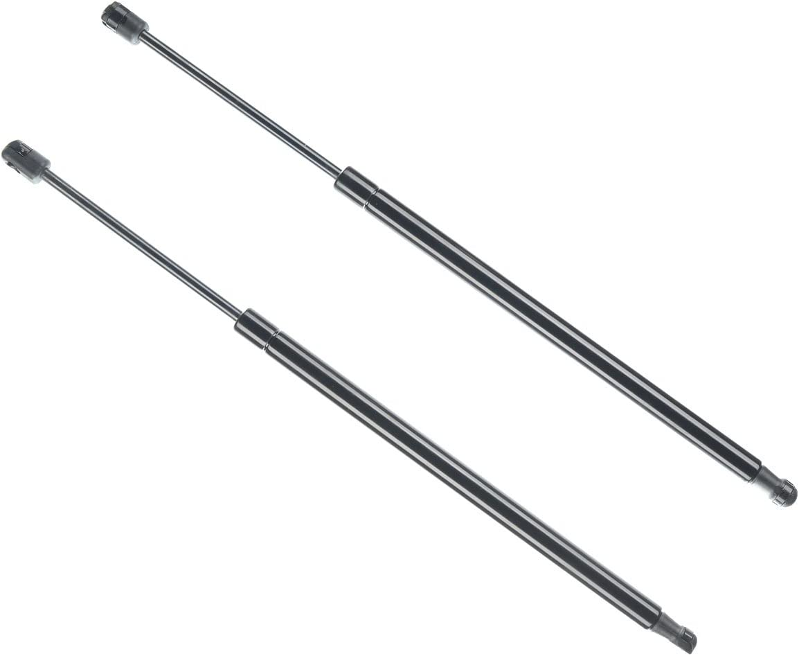 2pcs Rear Window Lift Support Shock Gas Struts for Jeep Wrangler 2011-2015 with Factory Top only