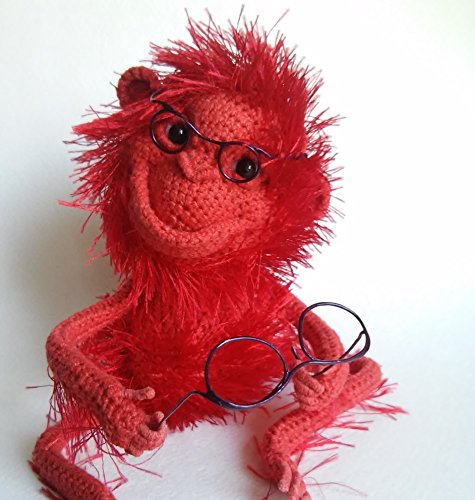 Handmade crochet toy, Stuffed animals, Handmade toys, Amigurumi, Crochet toy, Crochet Monkey, Plush toys, Crochet animals, Handcrafted, Monkey, Handma…