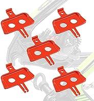 5 PCS Hydraulic Disc Brake Pads Spacer, Bicycle Hydraulic Disc Brake Pads Protection, Bicycle Brake Spacer MTB