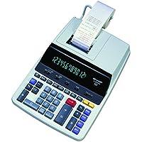 Sharp EL-2630PIII Two-Color Printing Calculator 4.8 Lines/Sec 4 Black/Red