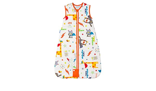 Grobag Saco Invierno 2.5 Tog para 3 - 6 años SAVE THE DAY Travel, multicolor: Amazon.es: Bebé