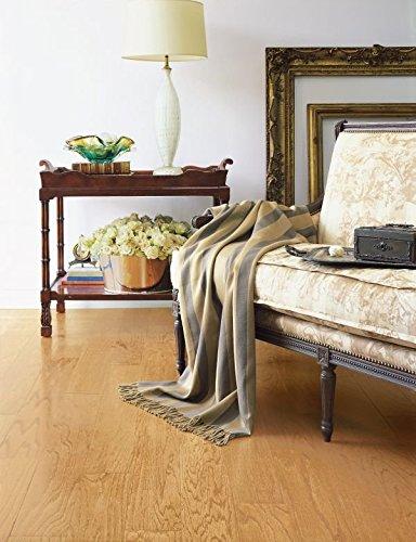 Bruce Hardwood Floors EAK00LG Turlington Lock&Fold Engineered Hardwood Flooring, 3'', Natural