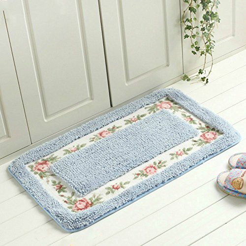 Decorative Absorbent Floormat Shower 15 75x23 62 product image