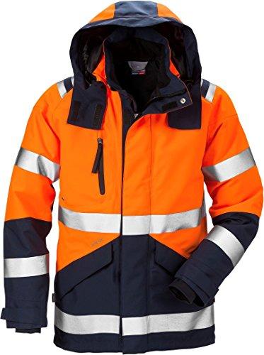 Fristads Kansas Workwear 120987 High Vis Gore-Tex Jacket Hi-Vis Orange/Navy L