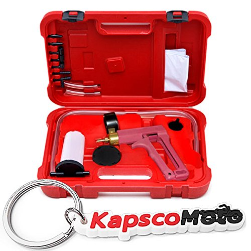KapscoMoto Keychain Biltek 2 in 1 Brake Bleeder /& Vacuum Pump Gauge Test Tuner Kit Tools DIY Hand Tools New Auto Hand Held Brake Bleeder /& Vacuum Pump Gauge Test Tester Tuner Tool Kit Set