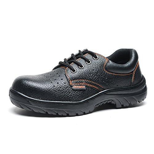 Chaussures de travail en cuir Anti-écrasement et Anti-perçage en été 040