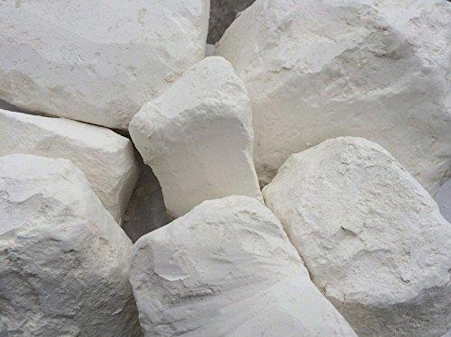 Edible chalk, Belgorod chalk chunks (lump) natural for eating (food), 4 oz (113 g)