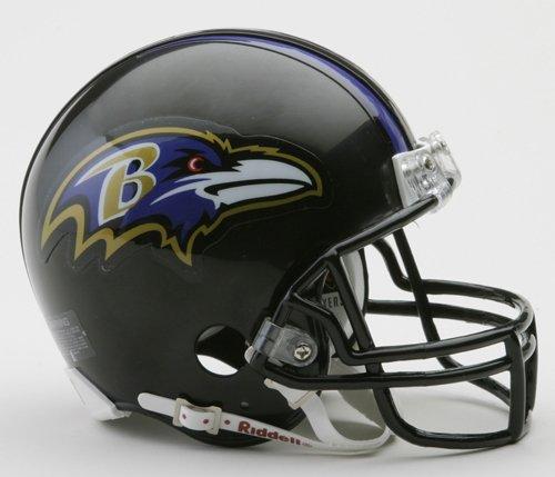 Authentic Mini Official Nfl Helmet - Riddell BALTIMORE RAVENS NFL ProLine VSR-4 Mini Football Helmet
