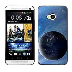 Be-Star Único Patrón Plástico Duro Fundas Cover Cubre Hard Case Cover Para HTC One M7 ( Space Planet Galaxy Stars 4 )