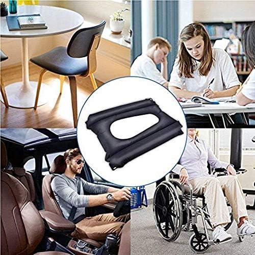 VGZ Anti-Dekubitus Patienten Luftkissen mit Loch Bürostühle und Autos für Ischias Relief Luftkissen Geeignet für Rollstuhl & Toilette Stuhl &BettpflegeBA