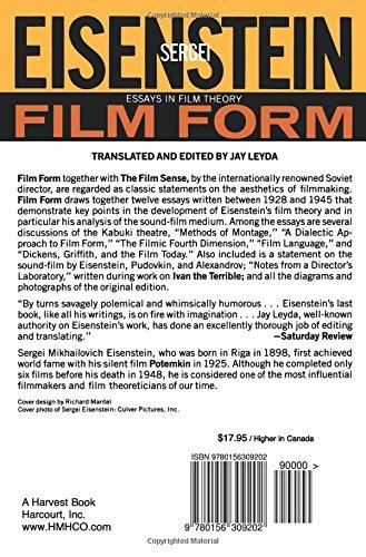 eisenstein film form summary