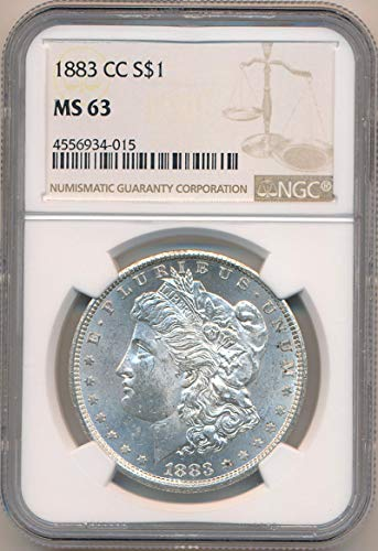 1883 CC Morgan Dollar Dollar MS63 NGC