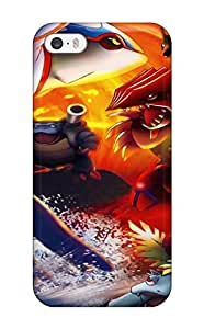 New Snap-on ZippyDoritEduard Skin Case Cover Compatible With Iphone 5/5s- Pokemon(3D PC Soft Case)