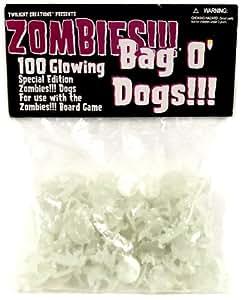 Bolsa de Perros Zombies fosforescentes