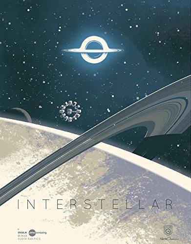 Interstellar Original Promo Movie Poster 2014 Imax Amc Version Christopher Nolan