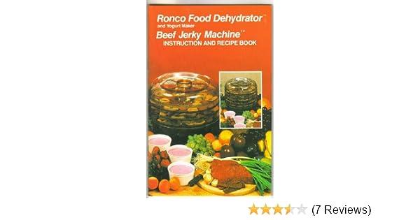 Ronco Food Dehydrator And Yogurt Maker Beef Jerky Machine