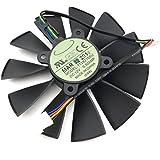 For ASUS STRIX GTX780 780TI GTX970 980 R9 280x 290X graphics card fan T129215SU (FAN-A (1 pcs))