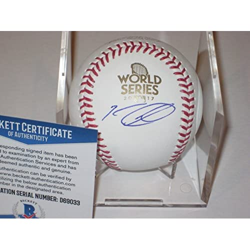 a7b0cf83c Autographed Ken Giles Houston Astros Signed 2017 World Series Baseball -  Beckett Certified