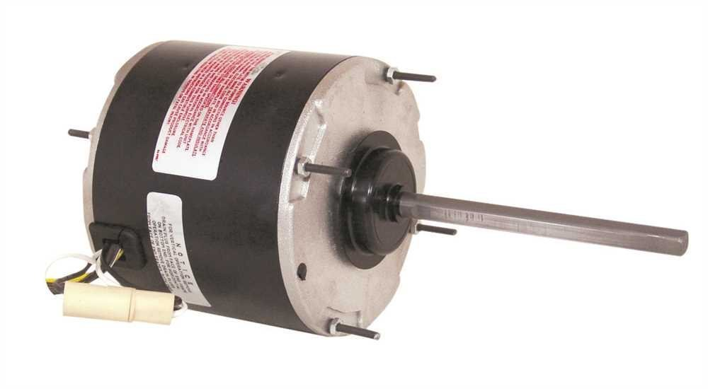 Goodman 0131M00429S 1-Speed Condenser Fan Motor, 208/230 Volts, 1/4 Hp, 1,075 RPM