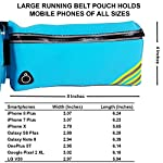 ANJ Outdoors New! Hydration Running Belt with Water Bottle | Waterproof Waist Pack for Men and Women | Universal Size to Hold Cell Phone, Wallet, and Keys