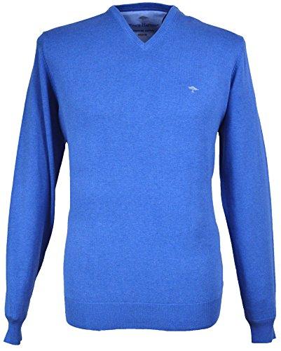 Fynch Hatton Herren Pullover Blau Blau Gr. xxl, Blau - Denim 647