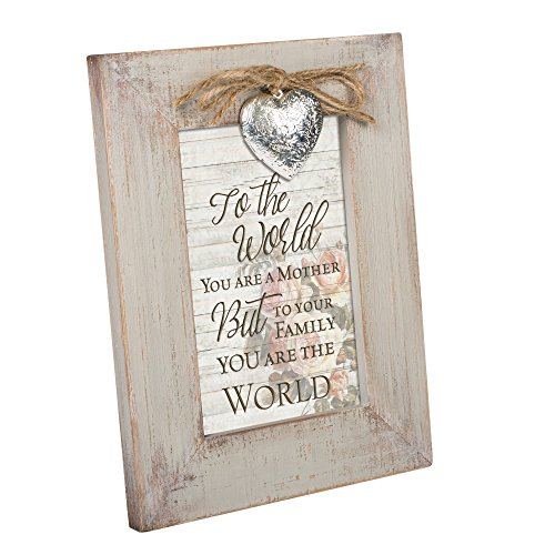 Cottage Garden You are a Mother to Your Family Natural Taupe Locket Easel Back Picture -