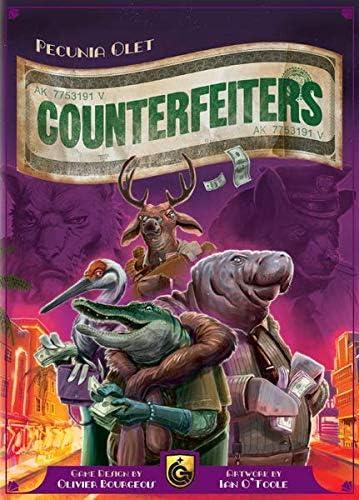 Quined Games Counterfeiters - Juego de Mesa [Inglés]: Amazon.es ...