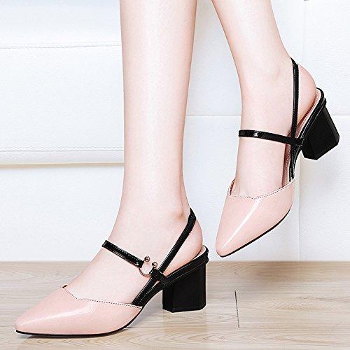 Mme 5 À Talons Femmes Avec Hauts Des Chaussures 36 SHOESHAOGE Sandals EU37 D'Épaisseur UK4 Chaussures OnxqpwdfY