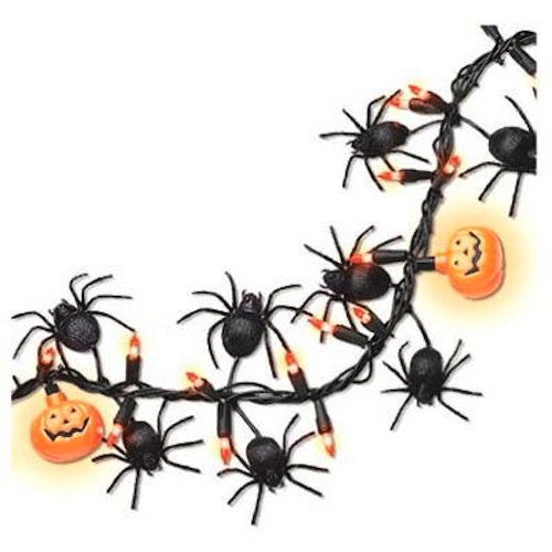 NOMA/INLITEN-IMPORT V34866 100-Light Halloween Garland