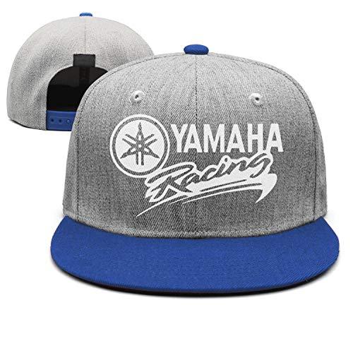 Men/Womens Yamaha-Racing-Logo- Flat-Along Adjustable Hunting Cap Vintage Baseball Hat