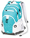 High Sierra Loop Backpack (19 x 13.5 x 8.5-Inch, Teal/White)