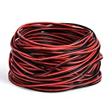 JACKYLED 22AWG Wire Cord 65.6ft Extension Cable