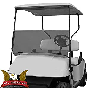 Tinted Windshield For EZGO TXT Golf Cart 1995 & Up from PARTS Direct