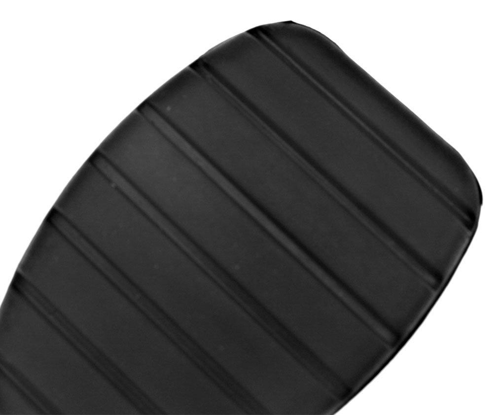 Juego de 2 cubre pedales de caucho para Ford Focus – Para pedal de freno y pedal de embrague – Color negro: Amazon.es: Bricolaje y herramientas