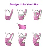 BABY CARRIER with HIP SEAT for 0-36 Months