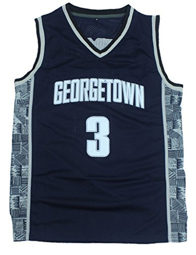 CRISGIORD Men's Georgetown Hoyas College Basketball NO.3 Allen - Georgetown Gear