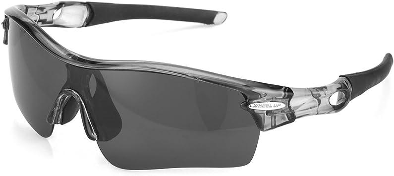Wheel Up - Gafas de sol fotocromáticas deportivas unisex, con 3 lentes, para ir a la montaña, ir en bici, color negro: Amazon.es: Deportes y aire libre