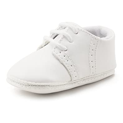 f499f3d5955c0 DELEBAO Chaussure Cuir Bebe Chausson Bebe Garcon Chaussure Souple Bebe  Chaussure Bebe Premier Pas
